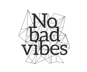 quote and no bad vibes image