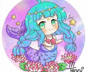 kawaii, cute, and pisces image