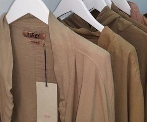 beige, brown, and yeezy image
