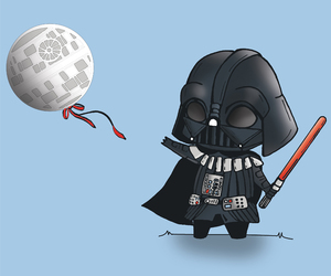 darth vader, star wars, and funny pictures image