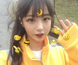 asian, ulzzang, and yellow image