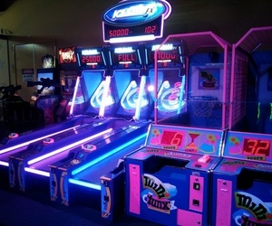 neon, game, and light image