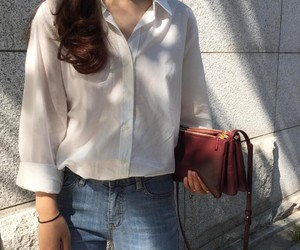 asian, casual, and kstyle image