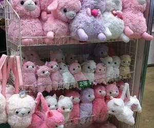pink, kawaii, and llama image