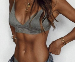 jewellery, summer body goals, and tan image