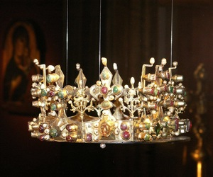 crown, hungary, and medieval image