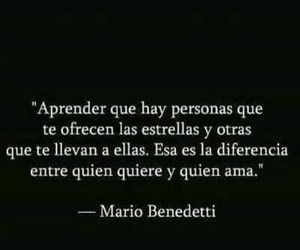 frases, mario benedetti, and love image