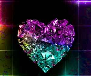 beautiful, colorful, and love image
