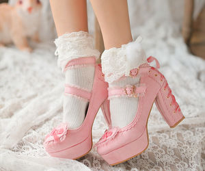 shoes, girly, and lolita image