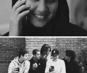 black and white, skam, and sana bakkoush image
