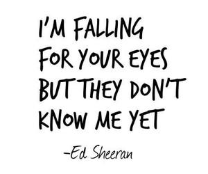 kiss me, Lyrics, and essheeran image