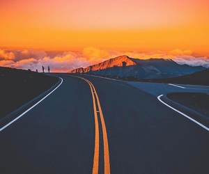 road, beautiful, and photography image
