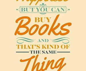 books, buy, and happiness image