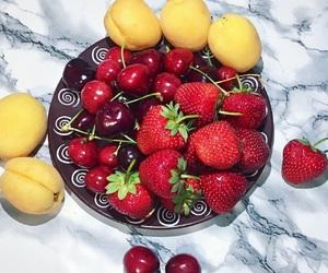 cherry and strawberry image