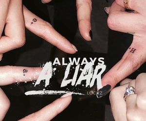 Liars, pretty little liars, and wallpaper image