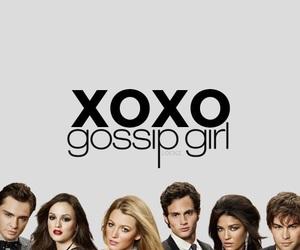 gossip girl, wallpaper, and xoxo image