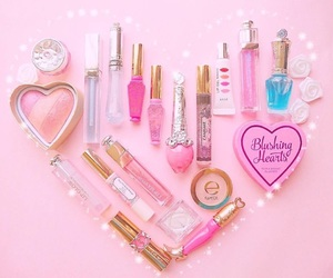 etude house, hearts, and makeup image