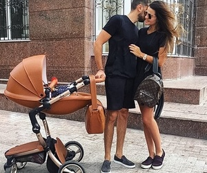 couple, family, and baby image
