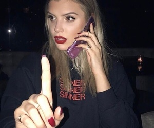 alissa violet, girl, and night image