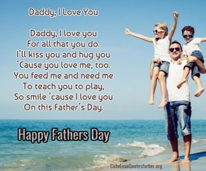 daddy, dad quotes, and father day sayings image