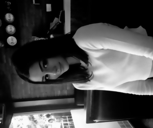 isabella fiori and black and white image