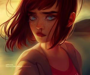 chloe, drawing, and fan art image