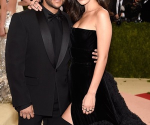 bella hadid and the weeknd image