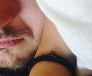 boyfriend, hand, and sleep image