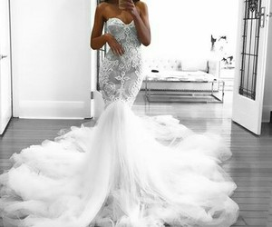 wedding dress and girl day image