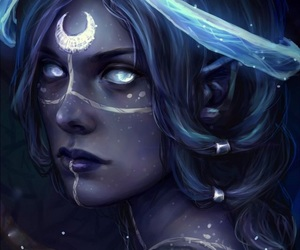 fantasy and moon image