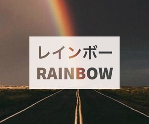 background, iphone wallpaper, and rainbow image