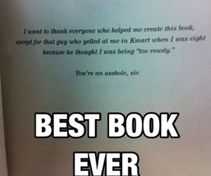 funny, book, and Best image