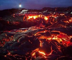 photography, beautiful, and vulcano image