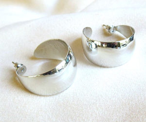 bright, chunky, and earrings image