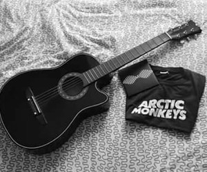 arctic monkeys and black image