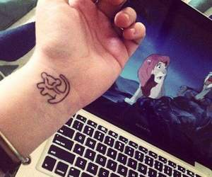 tattoo, disney, and simba image