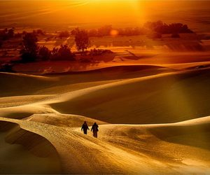 africa, libya is great, and desert image