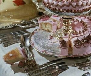 vintage, cake, and dessert image
