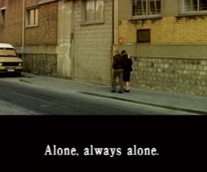 alone, still, and subtitles image