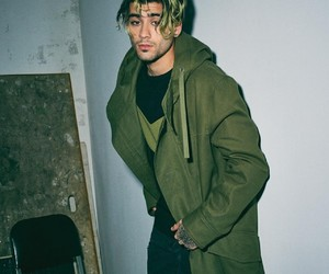 zayn malik, zayn, and green image