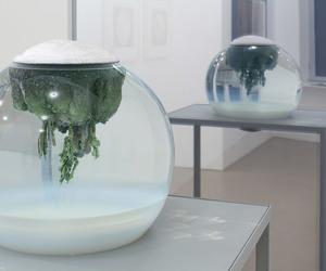 art, glass, and strange image