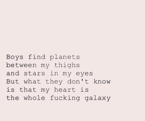 galaxy, poetry, and quotes image