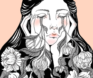 aesthetic, drawing, and illustration image