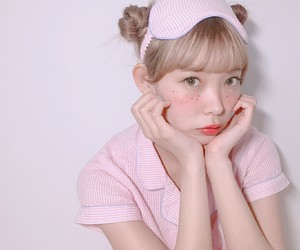 beauty, blonde, and Harajuku image
