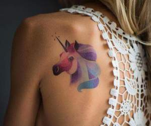 color, pastel, and tattoo image