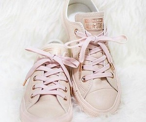 fashion, converse, and pink image