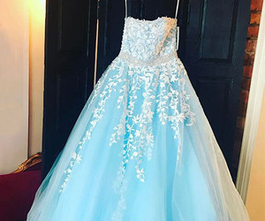 homecoming dress, beautiful prom dresses, and strapless prom dresses image
