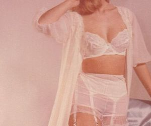 60s, lace, and lingerie image