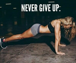 abs, motivation, and never give up image