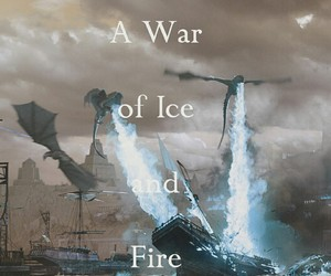 dragons, game of thrones, and a song of ice and fire image